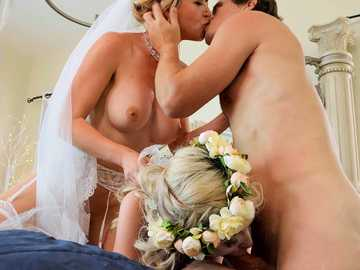 Lexi Lore and Kit Mercer: Two Brides, One Groom