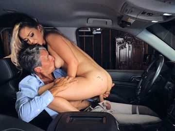 Alina Lopez realizes all sexual needs of unhappy mature gentleman