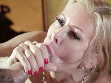 Insatiable MILF Alexis Fawx fucks her stepson while her son's girl watches